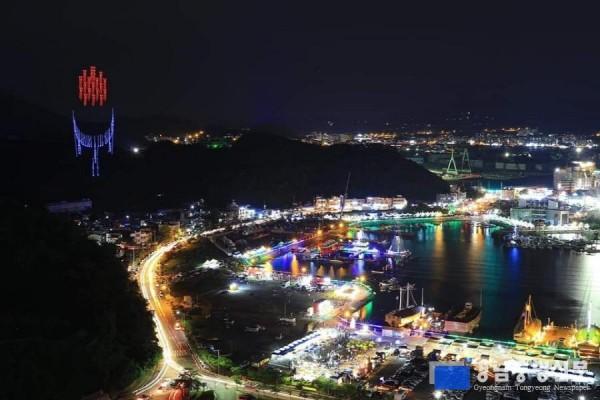 [크기변환]통영한산대첩축제, 2020~2021년도 문화관광축제로 선정!!-한산대첩축제장 전경.jpg