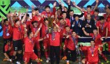 베트남축구 국가대표팀, 통영서 동계전지훈련