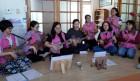결혼이민여성 다누리봉사단, 경로당 봉사활동