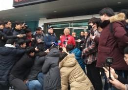 베트남 축구 박항서 감독, 통영 전지훈련 인터뷰