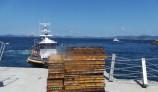 통영해경, 무등록 해상화물운송사업 낚싯배 검거