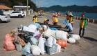 통영환경운동연합, 해양쓰레기 정화작업 펼쳐